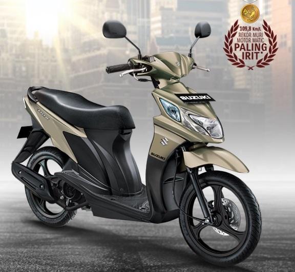 Sepeda Motor Matic Paling Irit di Indonesia