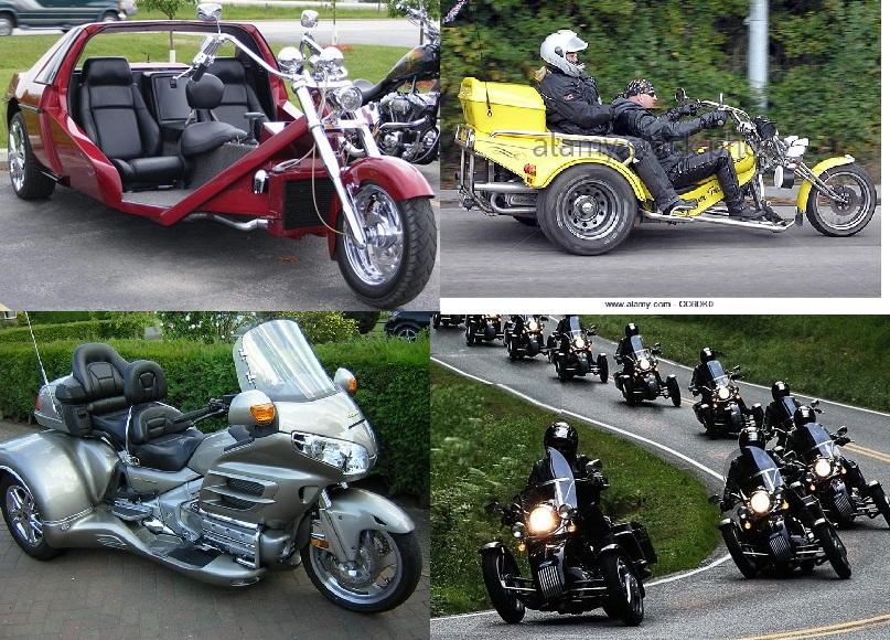 Sepeda Motor Roda 3