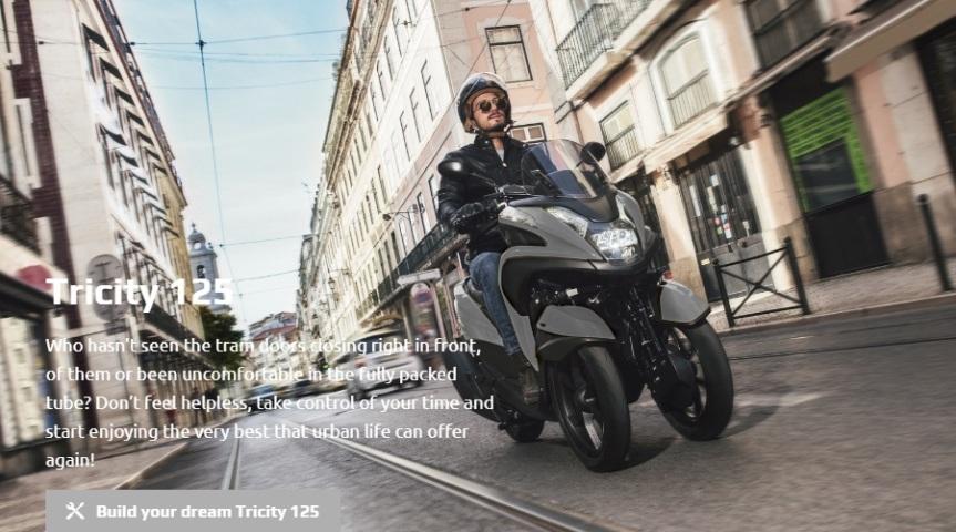 Jual Sepeda Motor Roda 3 Yamaha Tricity125